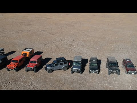 Epic Off Road Overland Expedition - 41 Vehicles in the Central Oregon Desert!!!
