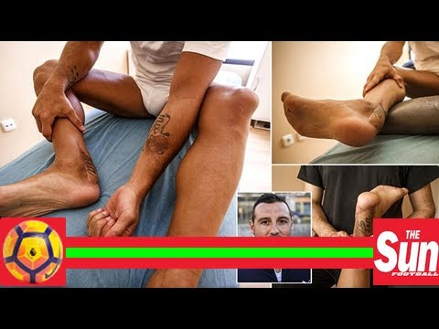 Arsenal Star Santi Cazorla Almost Lost His Foot To Gangrene