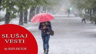 SNEG u Srbiji -   Danas oblačno i hladno, evo gde se očekuje najviše padavina