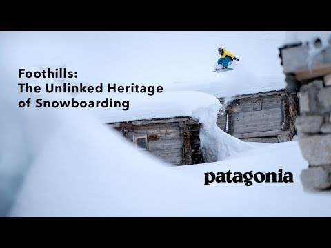Foothills: The Unlinked Heritage of Snowboarding