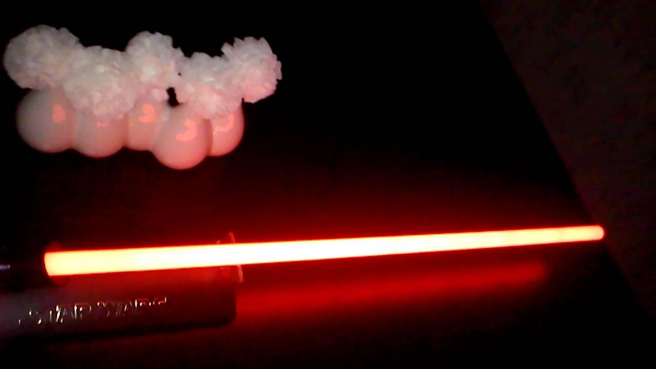 sabre laser fx master replicas dark vador esb youtube. Black Bedroom Furniture Sets. Home Design Ideas