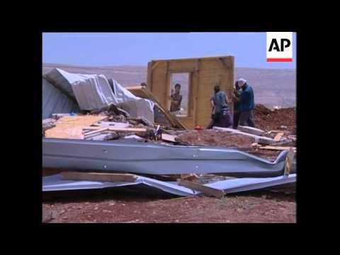 Israel demolishes minor Jewish settler outpost in West Bank