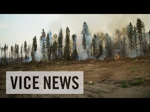 Inside The Alberta Wildfires