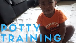 We Are Starting Potty Training! | 7/14/17