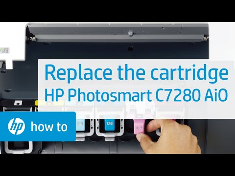 replacing a cartridge hp photosmart c7280 all in one printer youtube rh youtube com hp photosmart 8250 manual pdf hp photosmart 8250 troubleshooting guide