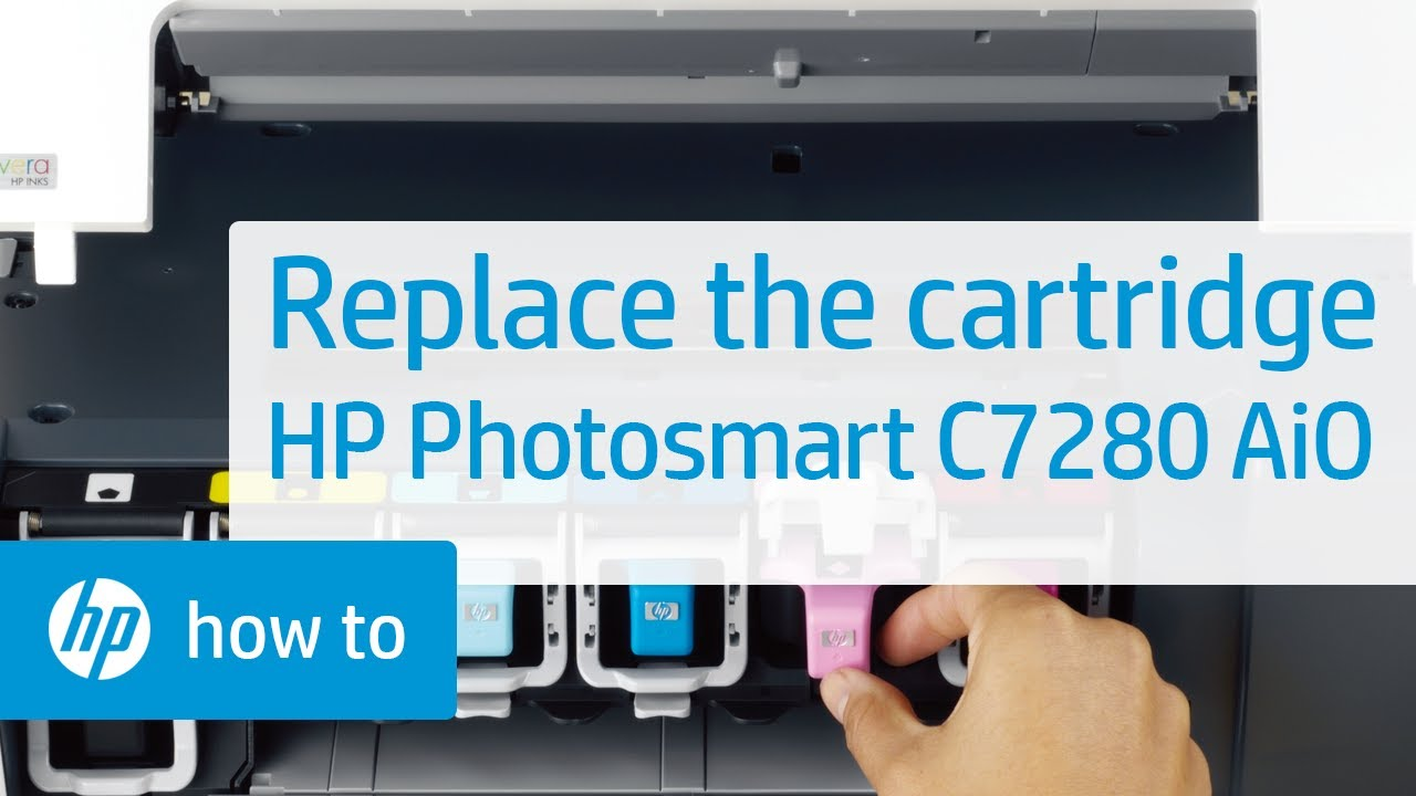 Replacing A Cartridge Hp Photosmart C7280 All In One