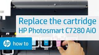 Replacing a Cartridge - HP Photosmart C7280 All-in-One Printer(, 2009-06-10T23:53:56.000Z)