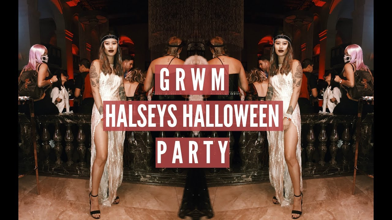 Grwm For Halsey S Halloween Party Idressmyselff Ad Youtube I showed an easy fall smokey eye makeup look using the kylie jenner bronze kyshadow palette that can go with any halloween costume, and a few diy last minute. youtube