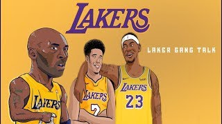 LakerGangTalk - Pt 1 - Lakers New Jersey's SHOWTIME IS BACK? LeBron Choose Young Core Over Kawhi?