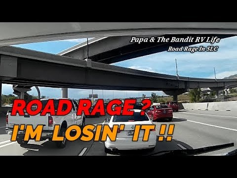 ROAD RAGE In SLC, Stupid Drivers