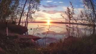 Рассвет. Кородское озеро. Северодвинск.