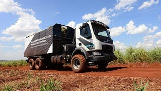 Volvo Trucks –Improving productivity with self-steering sugar-cane harvest truck