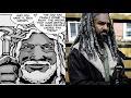 Rick Meets Ezekiel Comparison - Walking Dead TV Show VS Comic (Season 7 Episode 9)