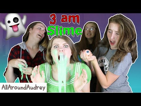 Thumbnail: MAKING SLIME AT 3 AM WITH FRIENDS! / AllAroundAudrey