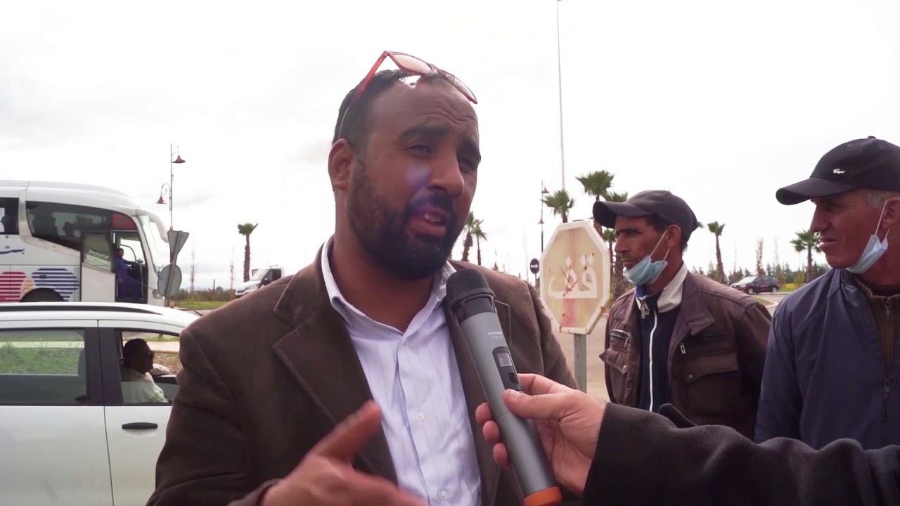 احتجاح سائقي سيارات الأجرة بدائرة الخميسات بالمغرب بسبب رخص التنقل  - نشر قبل 3 ساعة