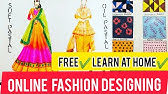 Free Online Fashion Desigin With Line For Beginners Study At Home Youtube