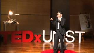 Think environment, love human beings: Tae Gyu Han at TEDxUNIST