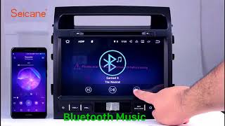 Aftermarket GPS 2004 2016 TOYOTA LAND CRUISER LC200 Radio DVD Player with Bluetooth Auto A V