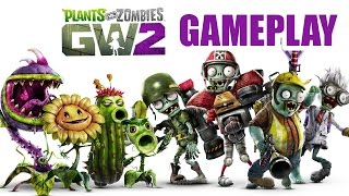 Plants vs Zombies Garden Warfare 2 Beta Gameplay - TEAM VANQUISH (PVZ Garden Warfare 2)