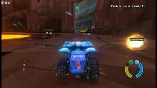 Hot Wheels Battle Force 5 / Nintendo Wii Race Games / Gameplay Video #3 FHD