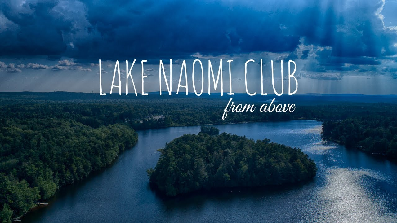 Lake Naomi Club from Above