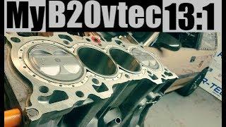 My B20 Vtec Setup