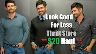 Style On A Budget | $20 Thrift Store Style Haul | Thrift Store Shopping Tips