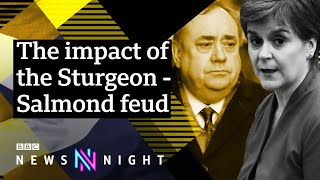 The Salmond-Sturgeon feud: What happened? - BBC Newsnight