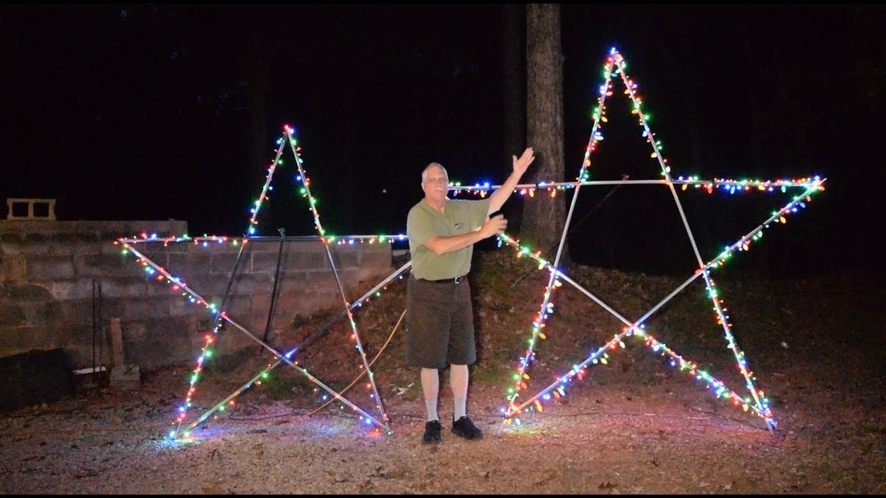 10 Foot 5 Point Star For Christmas
