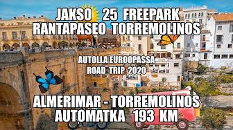 AUTOLLA EUROOPASSA ROAD TRIP 2020