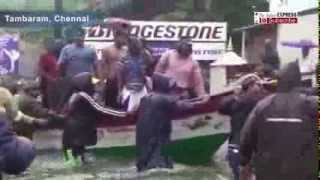 Chennai Rains: Visuals Of People Being Rescued In Boats