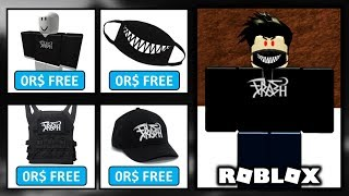 Wear TRASH Gang Merch ON ROBLOX For FREE!