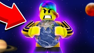 BECOMING GOD LEVEL STRENGTH AND DESTROYING THE UNIVERSE (Roblox Universe Destruction Simulator)