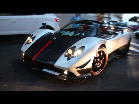 pagani zonda cinque roadster sound - youtube