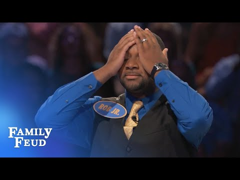 OMG. WATCH THIS FAST MONEY. | Family Feud