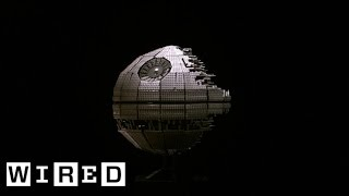 Star Wars Lego Death Star Gets Destroyed with a Baseball Bat | Star Wars Lego Destruction
