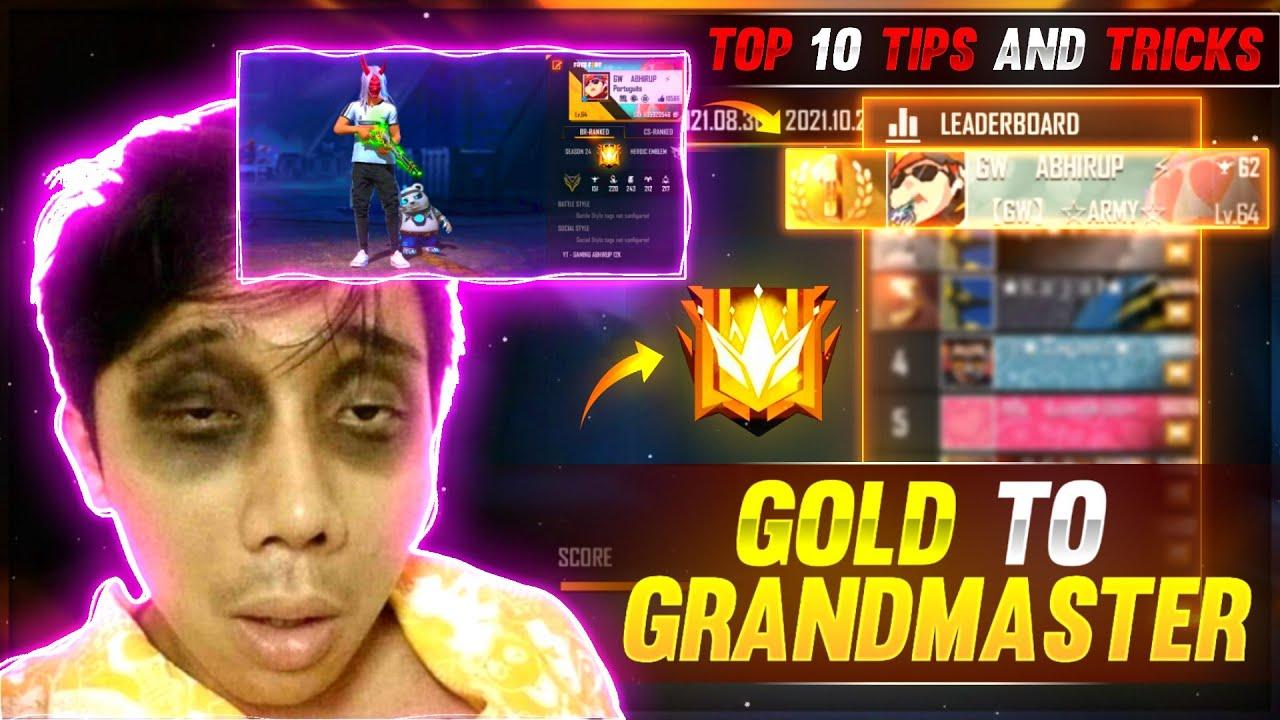 Download Gold To Grandmaster Tips And Tricks | Road To Grandmaster Season 24 😱🔥