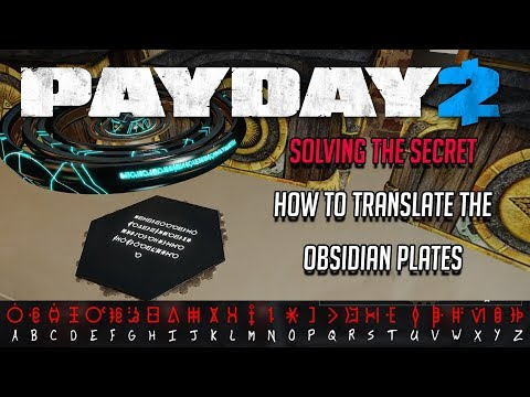 Solving The Payday 2 Secret - Translating The Plates