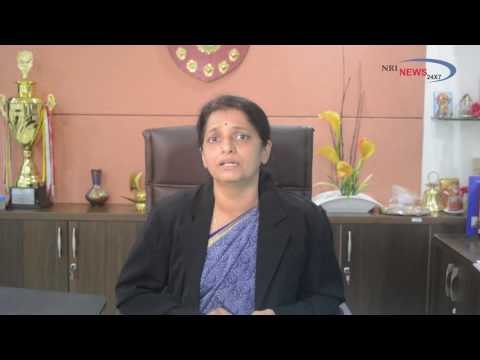 Dr Shashikala Gurpur (Director, Symbiosis Law School, Pune) in conversation with NRInews24x7