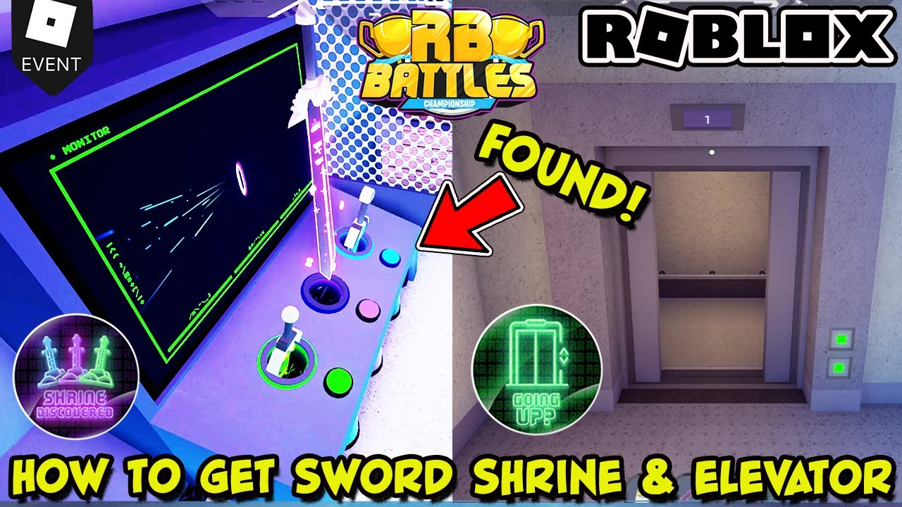 Download [EVENT] HOW TO ACCESS THE SWORD SHRINE AND ELEVATOR IN RB BATTLES GAME (Roblox) - Champion Hood