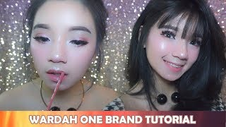 WARDAH ONE BRAND TUTORIAL + HARGA (bahasa indonesia) || THEYOLANDA