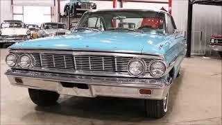 1964 Ford Galaxie teal