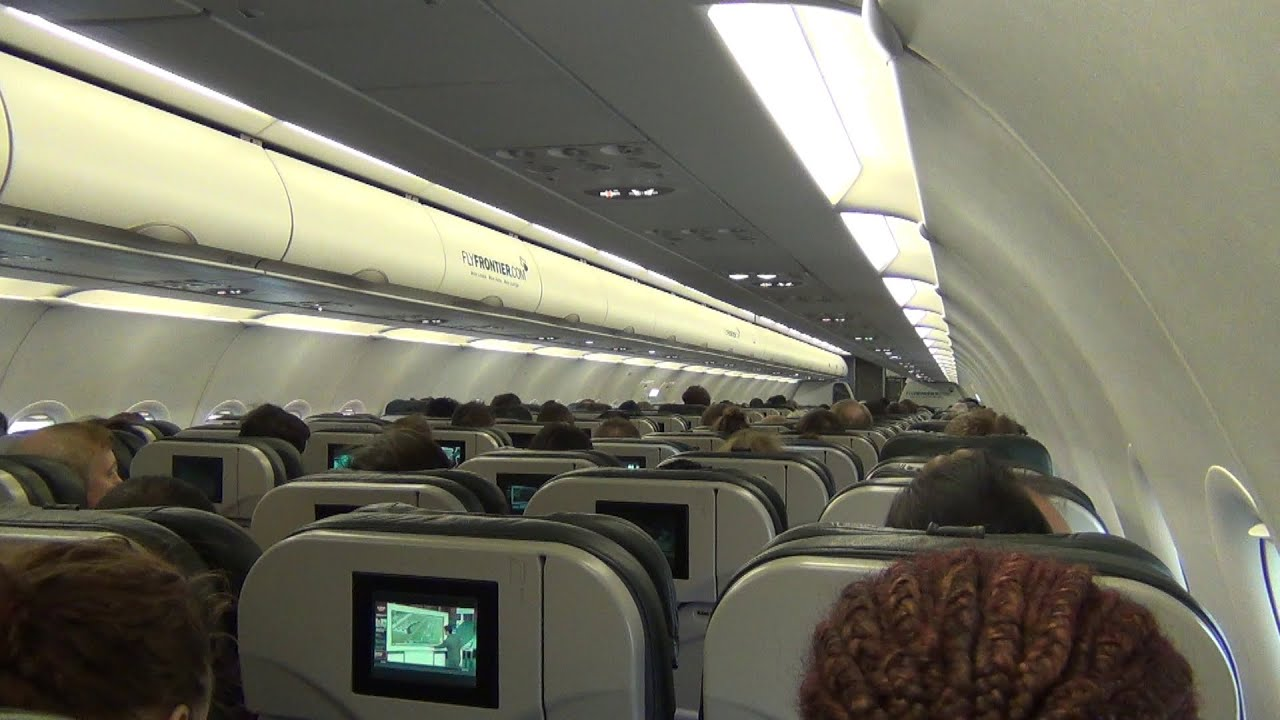 hd frontier a320 from ord to iad chicago to washington plane trip video youtube. Black Bedroom Furniture Sets. Home Design Ideas