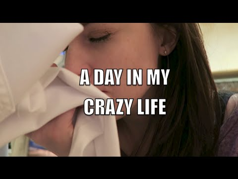 A DAY IN MY CRAZY LIFE!!!!