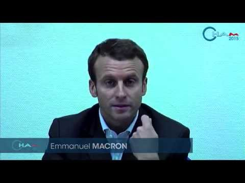 Interview Emmanuel Macron, French Minister of the Economy, Industry and Digital Economy