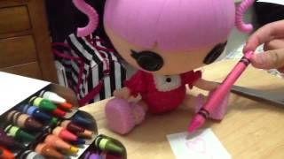 Lalaloopsy Littles:a Drawing For You!