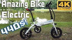 FIIDO D1 Folding Electric Bike 7.8Ah  Moped Bike Review Amazing 440$ !