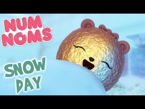 Num Noms Lights Snow Day | Num Noms | Snackables Cartoon Compilation for Kids