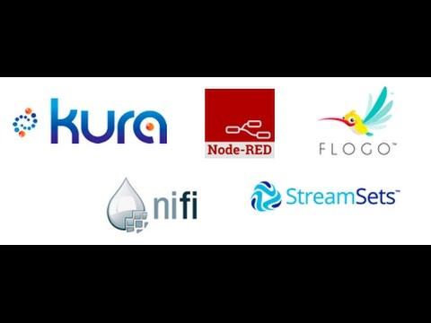 IoT Open Source Integration Comparison (Kura, Node-RED, Flogo, Apache Nifi,  StreamSets)