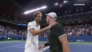 Доминик Кепфер - Даниил Медведев. US Open-2019. Обзор матча